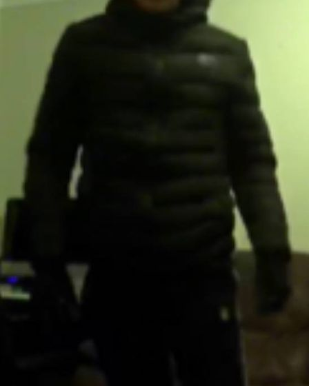 Essex police would like to speak to this man in conection to two separate break-ins in Witham Pictur