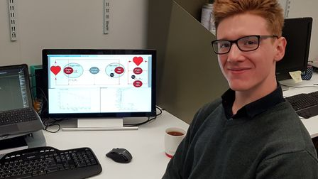 Liam Brown, originally from Sudbury, is heading to Westminster to present his research Picture: LOND