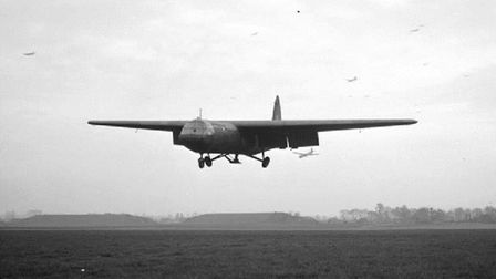 A Horsa coming in to land Picture: IMPERIAL WAR MUSEUM