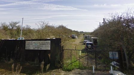 The proposed St Osyth holiday village will be built on the site of a former car breakers yard. Pictu