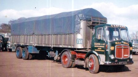 An AEC Mandator with a Park Royal cab at Carter�s Melton base in 1965. An historic image as it'�s th