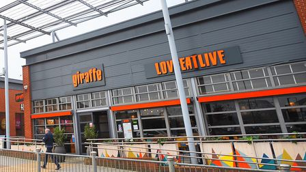 Giraffe restaurant in Bury St Edmunds has been earmarked for closure Picture: ARCHANT