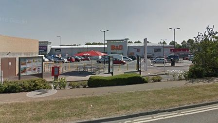 A man in his 20s was assaulted by three men who then stole his car at Brook Retail Park in London Ro