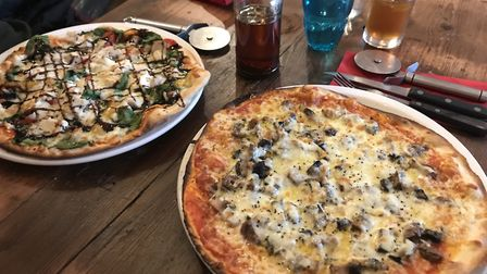Pizzas at Suffolk Stonehouse PICTURE: Archant