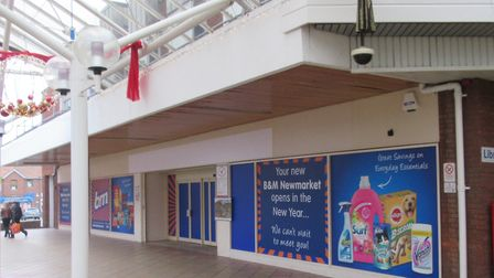 Former Newmarket Marks & Spence to re-open as a B&M store on Saturday. Picture: B&M
