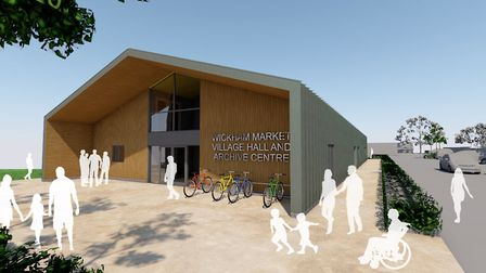The two floor building was given planning permission last November Picture: PLAICE DESIGNS