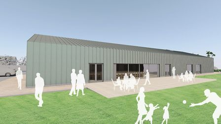 It is hoped that the new village hall will be open in 2022 Picture: PLAICE DESIGNS