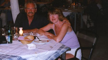 Roy Goldsmith and Carol loved their holidays - especially Greece Picture: Carol Whitmore