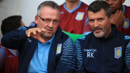 Keane was Paul Lambert's assistant manager at Aston Villa. Picture: PA
