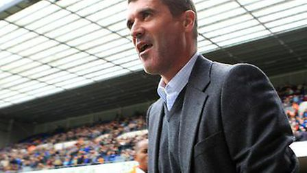 Keane returns to Portman Road this weekend in charge of Nottingham Forest. Picture: ARCHANT