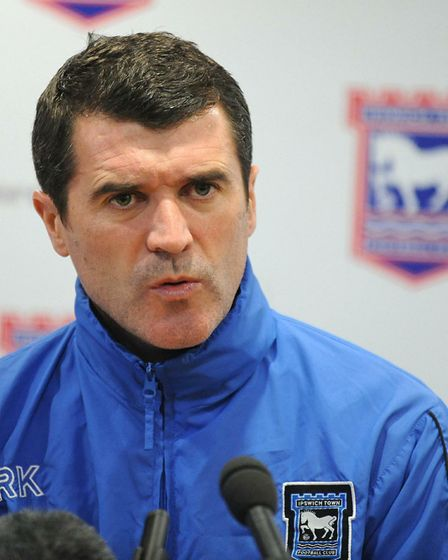 Keane admitted in his 2014 autobiography that he hated the colour blue. Picture: ARCHANT