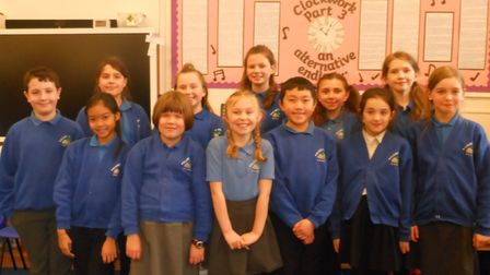 Palgrave Primary School children are taking part in the final of the mock trial competition at Ipswi