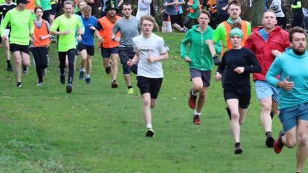 A field of 162 took part in Saturday's Great Cornard parkrun. Picture: GREAT CORNARD PARKRUN FACEBO