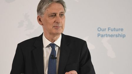 Chancellor of the Exchequer Philip Hammond Picture: PA WIRE
