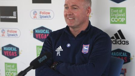 Paul Lambert will speak to the media this afternoon