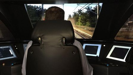 One of the Greater Anglia simulators. Picture: GREATER ANGLIA