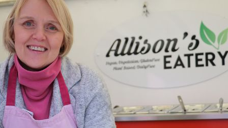 Allison Knight, who will bring her business to St Olaves Precinct Picture: ST NICHOLAS HOSPICE CARE