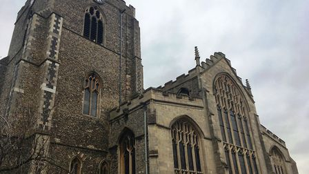 St Mary's Church, Bury St Edmunds. Picture: MICHAEL STEWARD