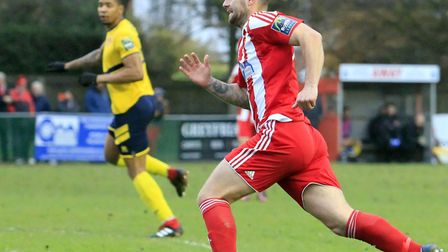 Jack Ainsley: On target twice against Witham for The Seasiders back in November Photo: CARL NEWELL
