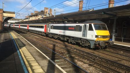 Intercity trains were among the least punctual on the Greater Anglia network in February 2019.