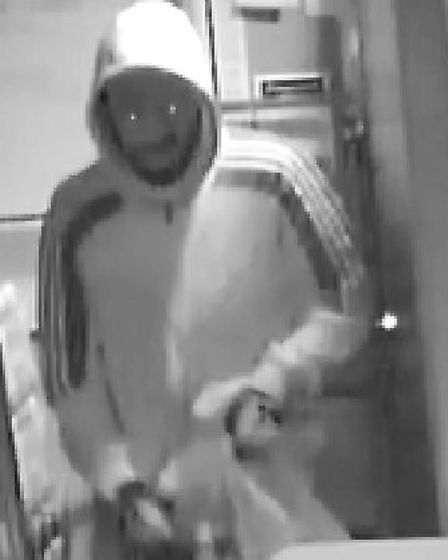 Officers have released CCTV images of three men they would like to speak to following the robbery Pi