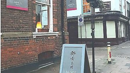 Mark Heath and his wife Liz visited Mings Oriental in Bury St Edmunds. Picture: MINGS