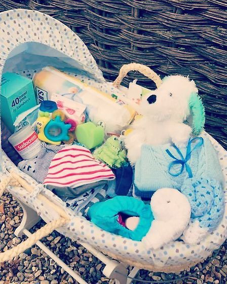 One of the baskets from The Moses Project. Picture: THE MOSES PROJECT
