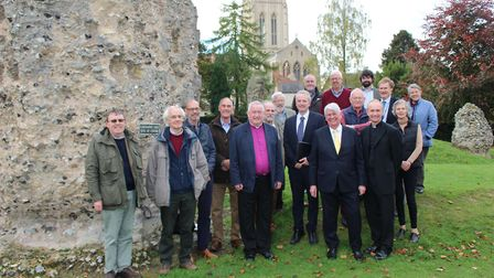 Members of the Abbey Heritage Partnership. Picture: ST EDMUNDSBURY BOROUGH COUNCIL