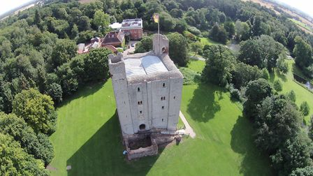 Eclipse appeared at a falconry event held at Hedingham Castle during half-term