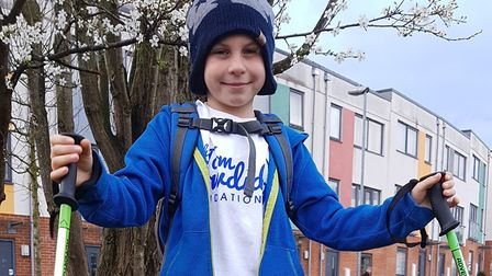 Alastair is already planning to climb Snowdon once he has completed this challenge Picture: RACHEL