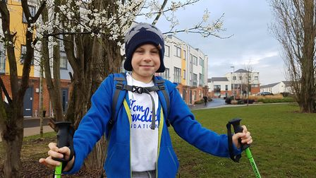 Alastair is gearing up to scale new heights for a youth cancer charity Picture: RACHEL EDGE