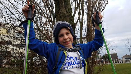 Alastair Emrich, from Colchester, is hiking the 25 miles of the Yorkshire Three Peaks this May Pict