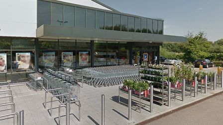 An attempted ram raid took place in Brandon on Friday morning Picture: GOOGLE MAPS