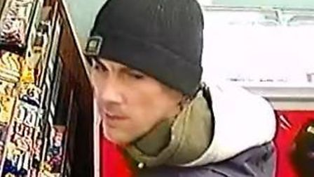 Do you know this man? Police would like to speak to him in connection to a burglary in Witham. Pictu