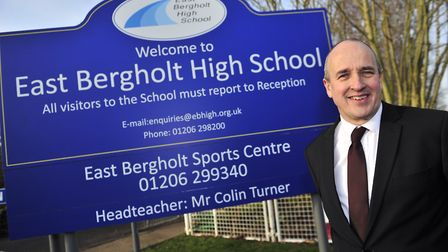 East Bergholt High School received CIL cash for its theatre seating. Picture: LUCY TAYLOR