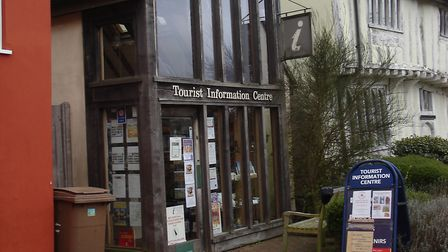 Lavenham Tourist Information Centre is to be turned into a community hub. Picture: DON BLACK