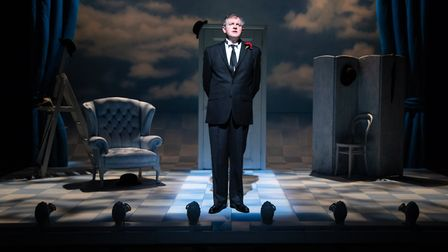 Miles Jupp as David Tomlinson in the one man play The Life I Lead at Bury Theatre Royal