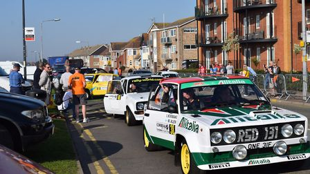 Contenders in last year's inaugural Corbeau Seats Rally. Picture: WILL LODGE/TENDRING DISTRICT COUNC