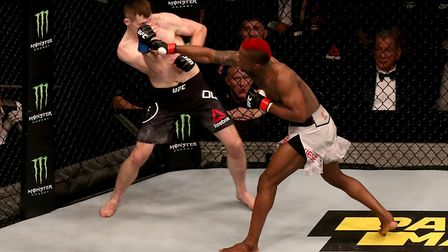 Marc Diakiese (right) looked superb on his way to a win over Joe Duffy. Picture: PA SPORT