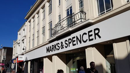 Marks and Spencer in Ipswich - could the food hall be expanded?