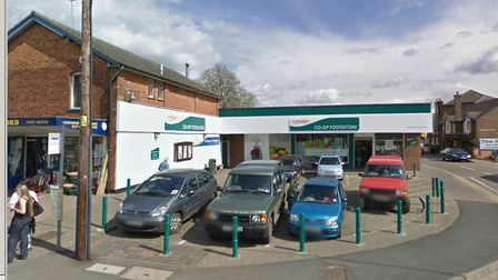 Cigarettes were taken from the Co-Op in Sible Hedingham Picture: GOOGLE MAPS