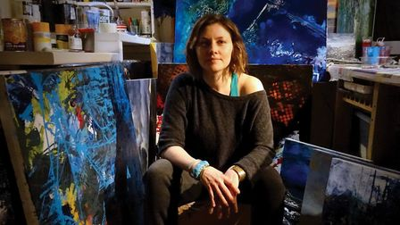 Danielle Taylor pictured in her studio Photo: Danielle Taylor