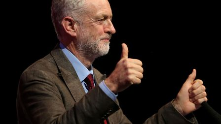Labour leader Jeremy Corbyn might have have books about allotment keeping. Picture: Andre Milligan/P