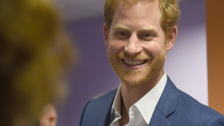 Prince Harry. Picture: SARAH LUCY BROWN