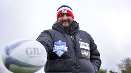 Paul Jordan will be a part of a team taking on an incredible attempt to set two Rugby related Guinne