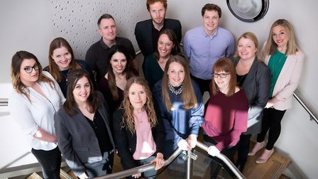 The Pier PR and Marketing team. Photo: Rob Howarth.