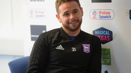Judge has been an instant hit since his arrival at Portman Road. Picture: ROSS HALLS