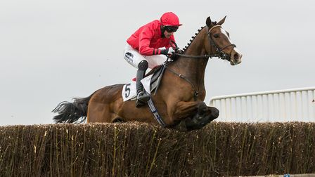 Richard Collinson on the way to victory aboard Laser Beam in the Internediate race at High Easter. P