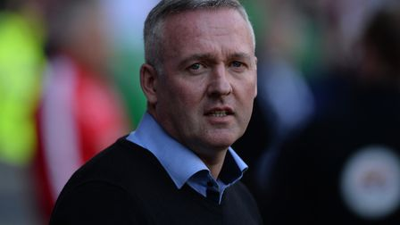 Ipswich Manager Paul Lambert before kick-off at Bolton Picture Pagepix
