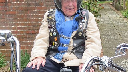 Jean Wood on the Harley Picture: STOWMARKET FREEMASONS